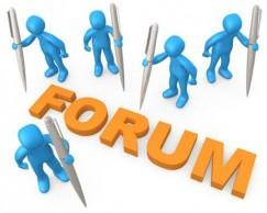 Форум как способ раскрутки